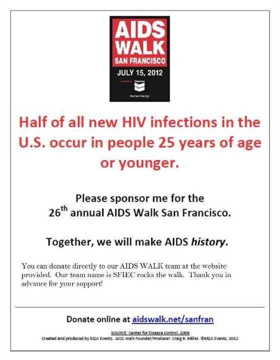 San Francisco Aids Walk 2012