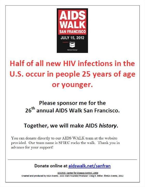 San Francisco Aids Walk 2012